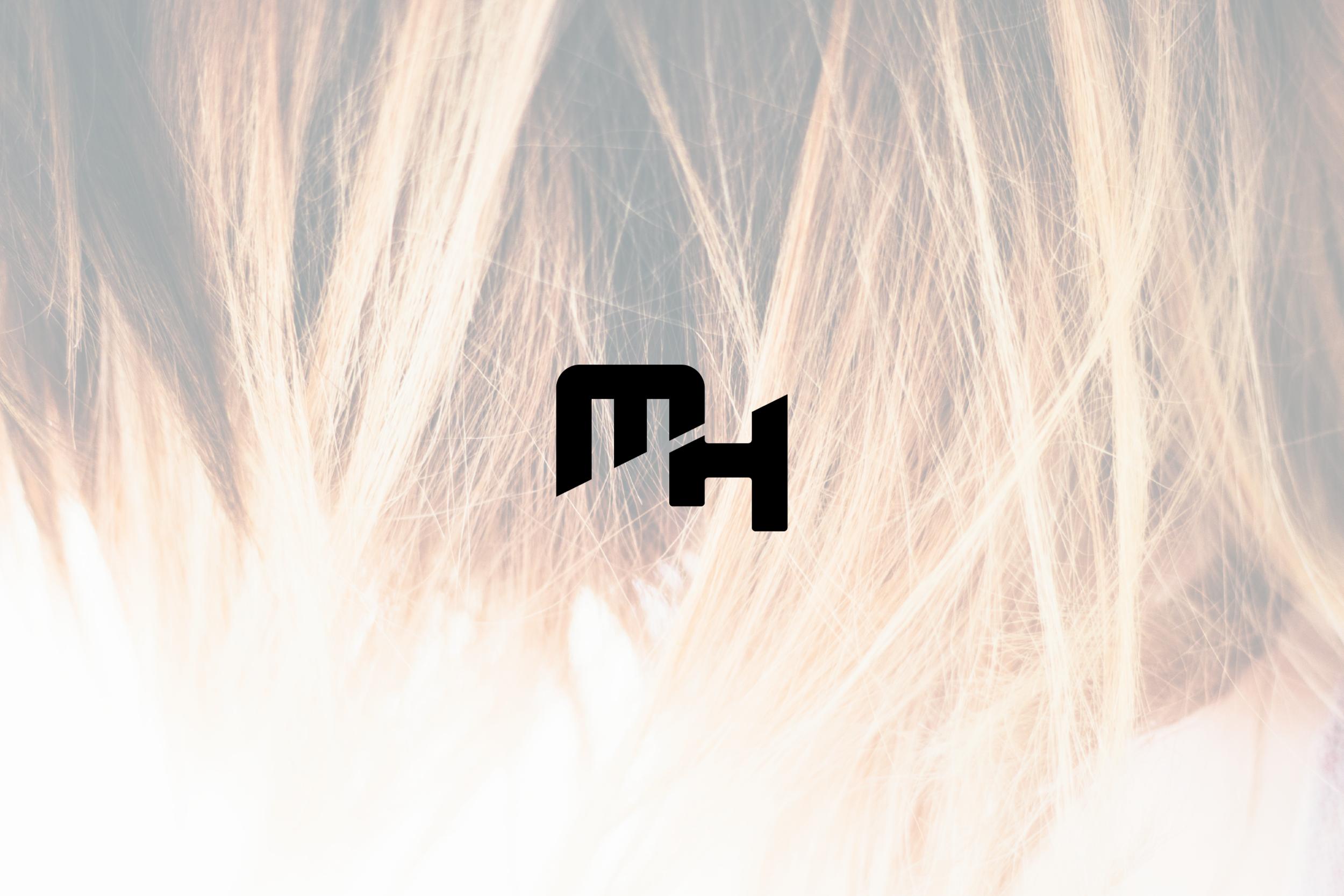 Logo design for Method Hair, a hair salon in Austin, Texas.
