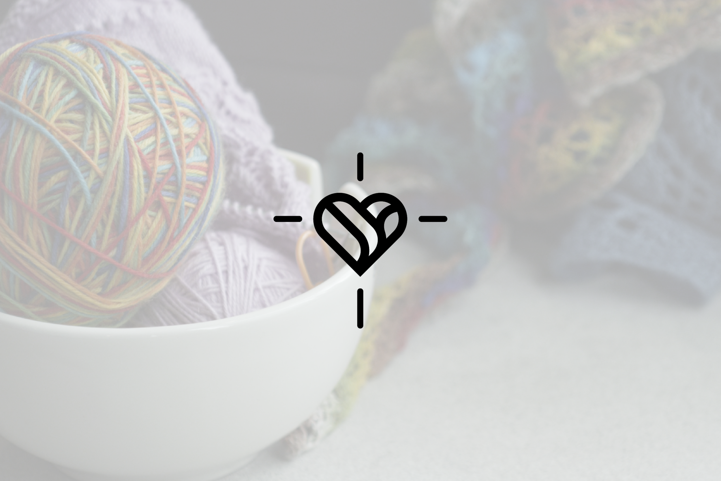 Logo design for ComfortCaps, a knit & crochet ministry in Round Rock, Texas.