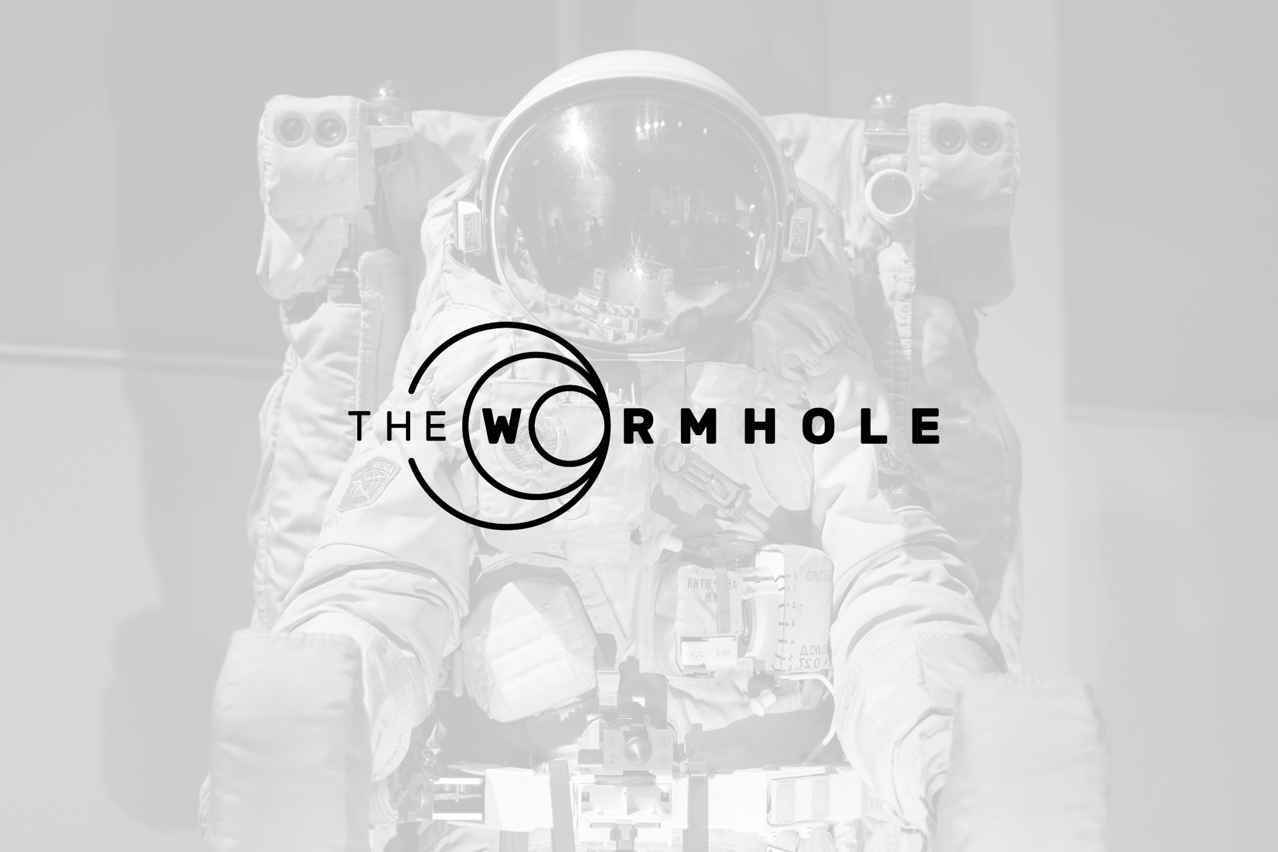 Logo design for The Wormhole, annual cyberpunk themed party in Austin, Texas.