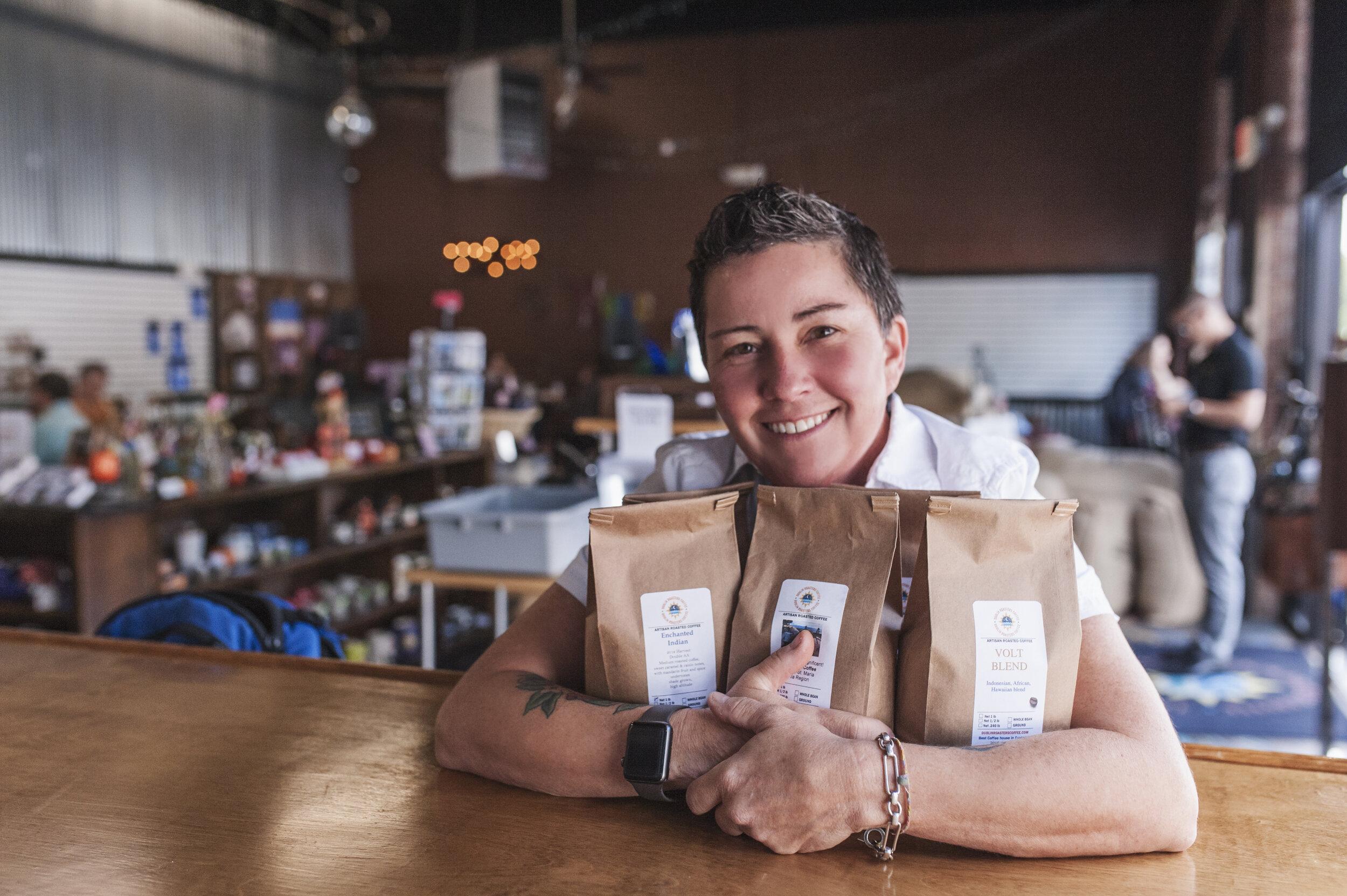 Serina Roy - Dublin Roasters Coffee: Frederick Maryland Coffee Roaster and Coffee House.
