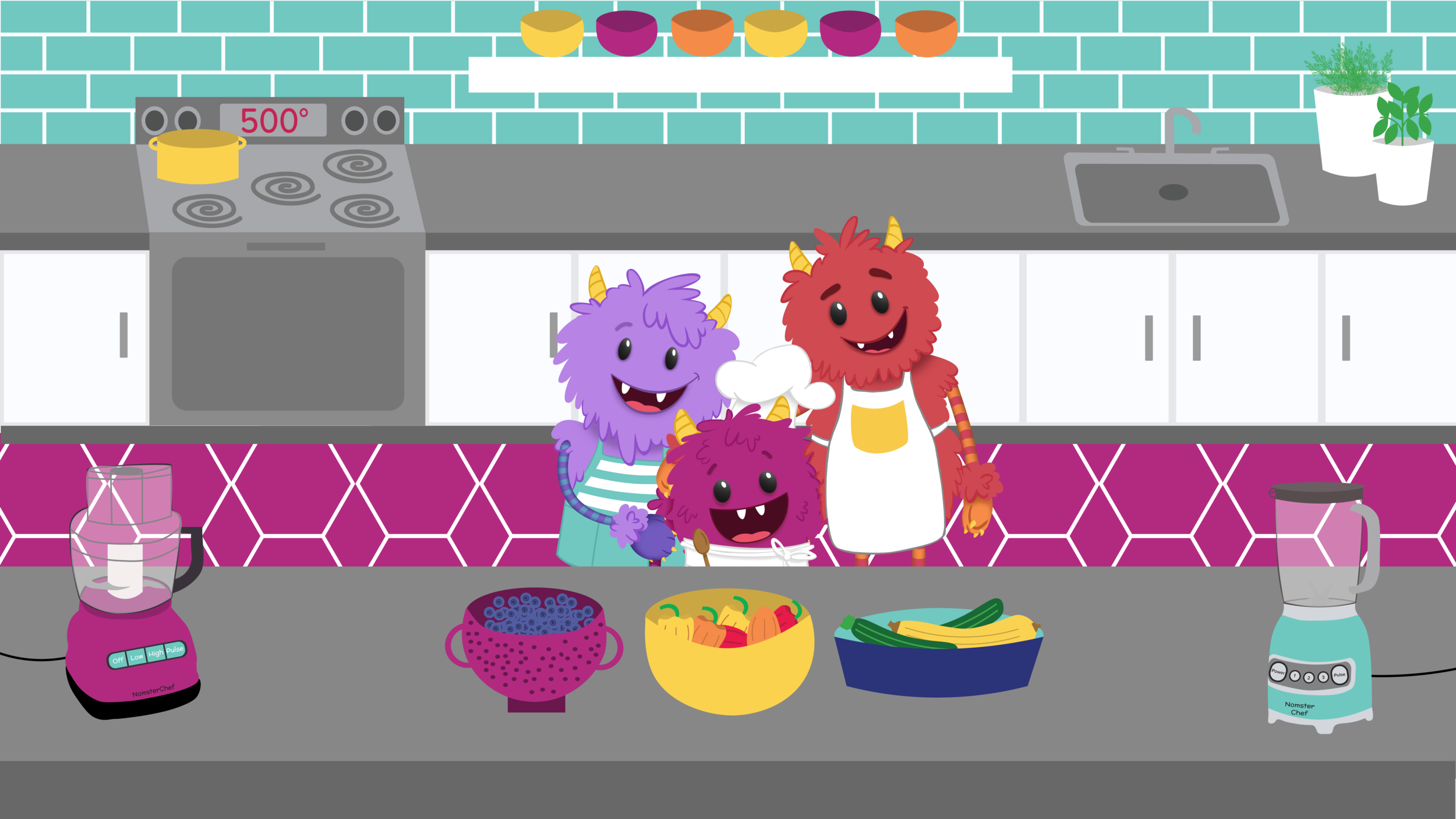 Nomster family kitchen illustration.png