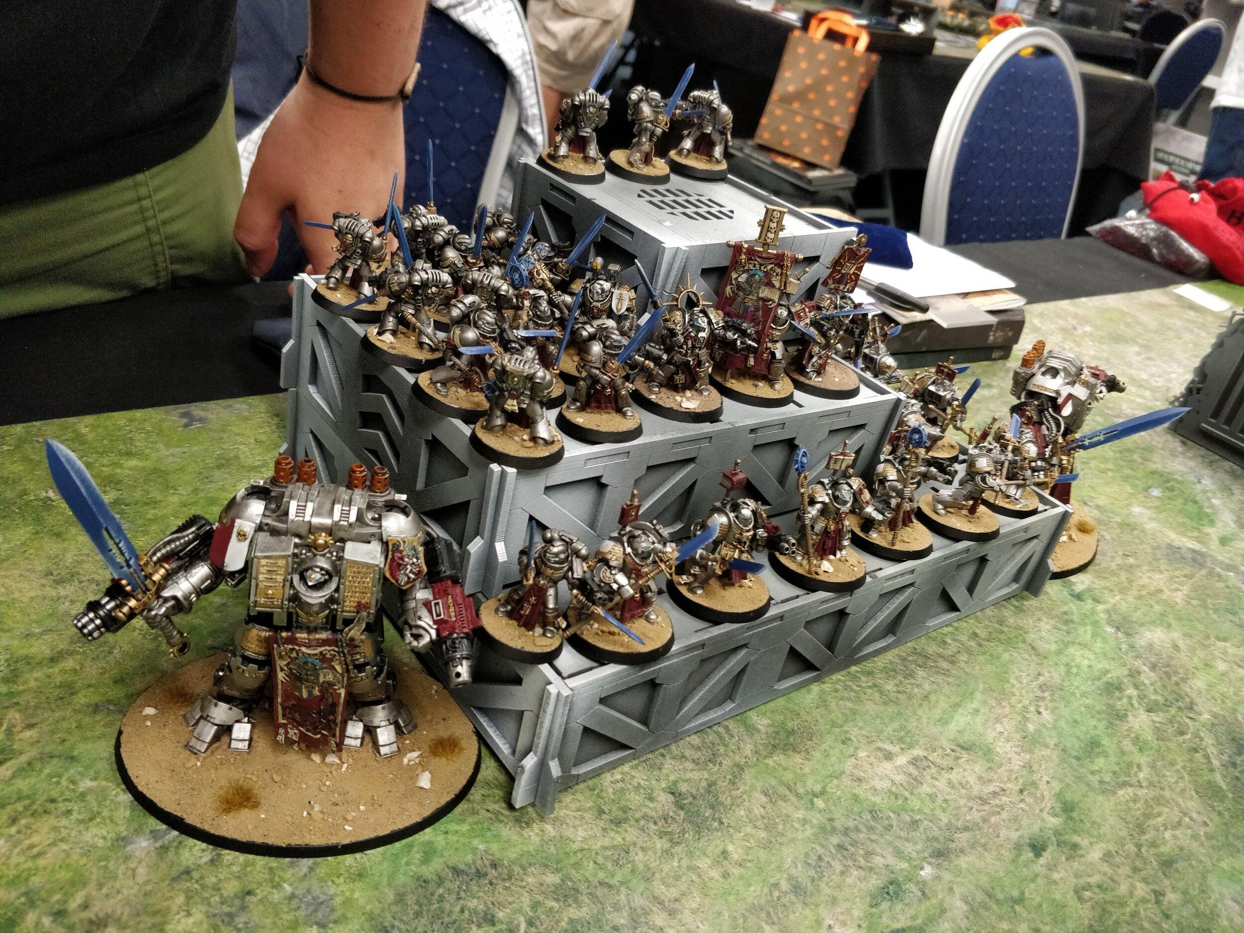 Grey Knights TESTE x5 WARHAMMER 40K SPACE MARINE Bits