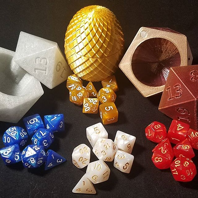 We may be starting process if finding a good dice supplier while we start making our own custom ones. We may have started getting some samples in too.... #dice #dicebox #dragon #dragonegg #dnd #D20 #rollthedice