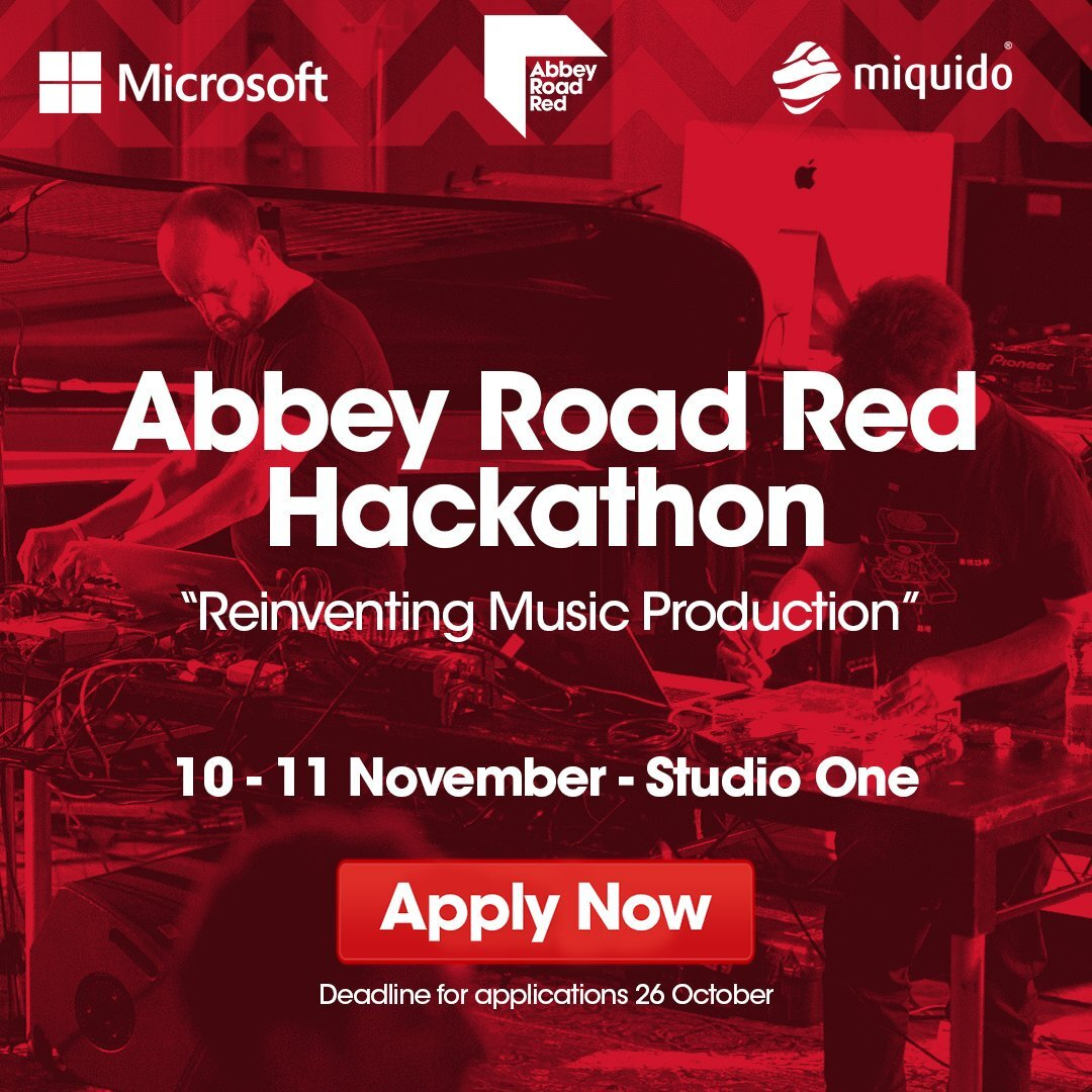 Abbey Road Red - Had the honor of helping make magic at the most historic recording studio in the world