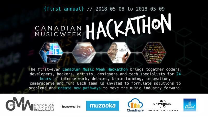 Canadian Music Week Hackathon - We got hackers on the Discovery Channel!