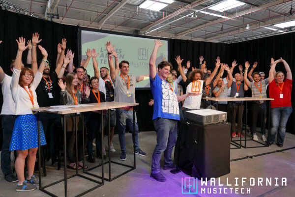 Belgium's First Music Hackathon - Wallifornia Hackathon in Belgium has become the most important music tech event in that country