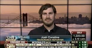 Josh Constine - Editor At Large Techcrunch