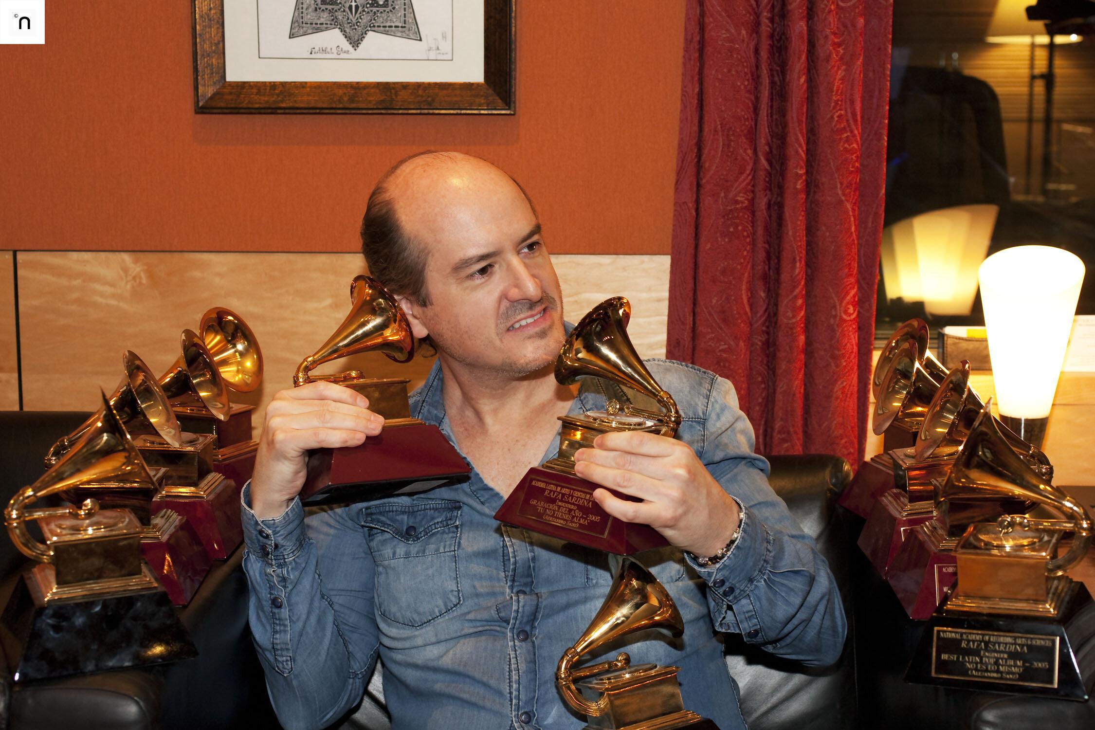 Rafa Sardina - 13 Time Grammy Winner