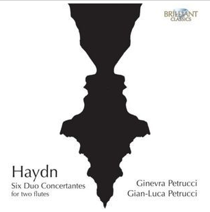 HAYDN / SIX DUOS CONCERTANTES   With  Gian-Luca Petrucci   Brilliant Classics 2015