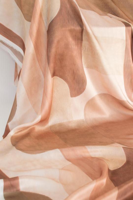 Blocks | ROSE on silk