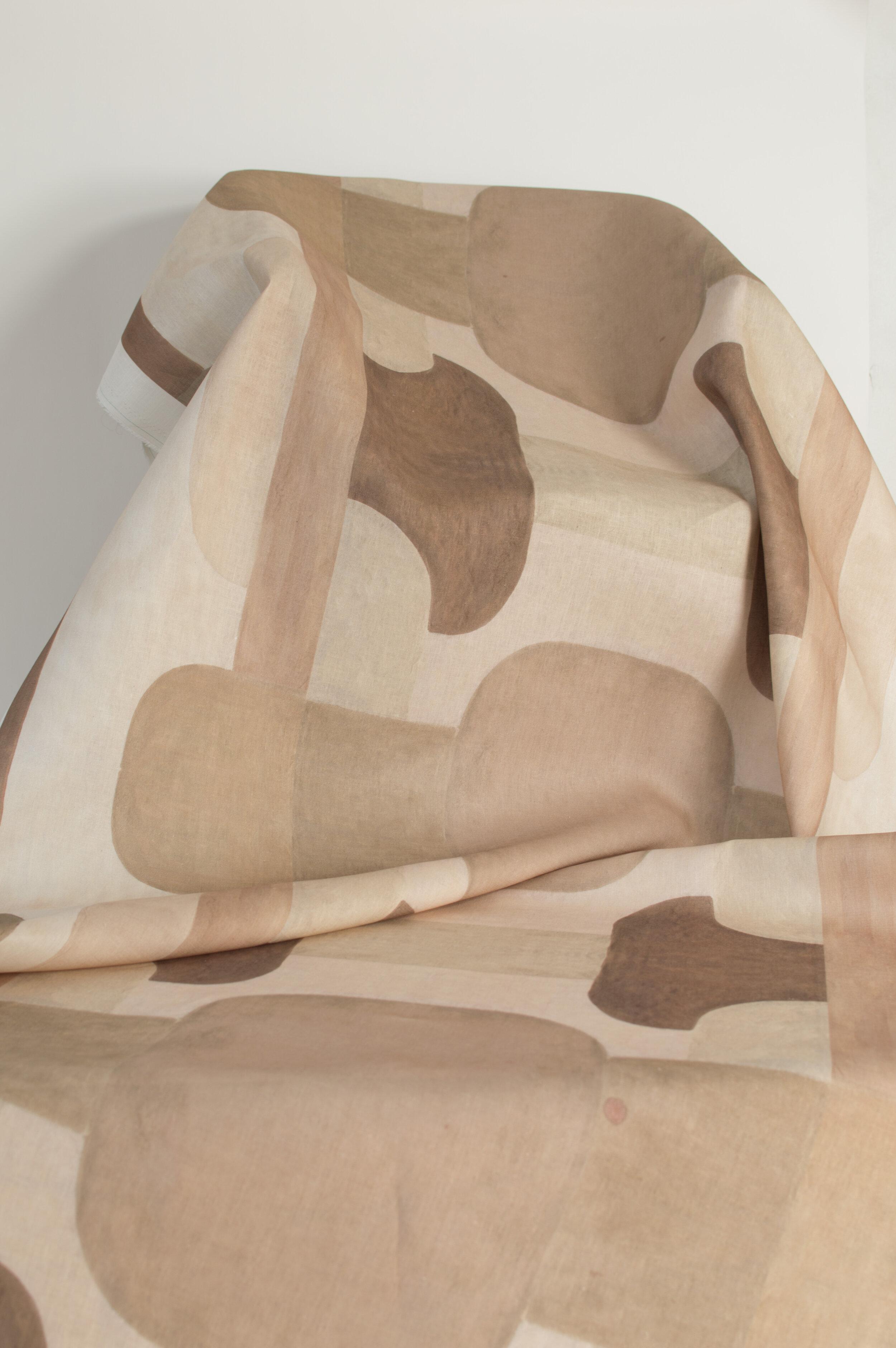 Blocks | ROSE on linen