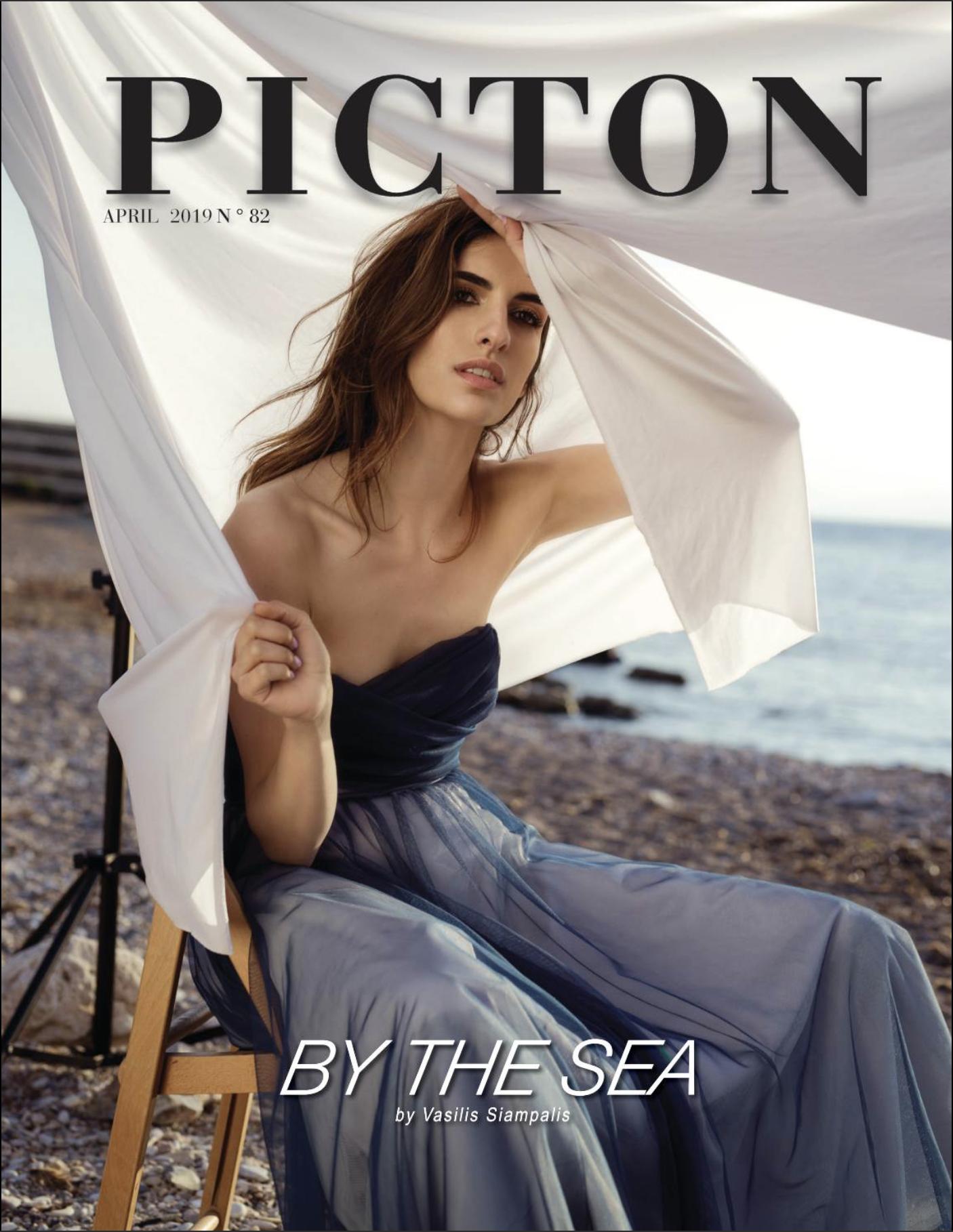 - Picton Magazine April 2019 no 82photographer/ wardrobe stylist: Sylwia Gniazdowskamodel: Daria BronsartMUA: Oliwia Grzelakhair stylist: Monika Gębka
