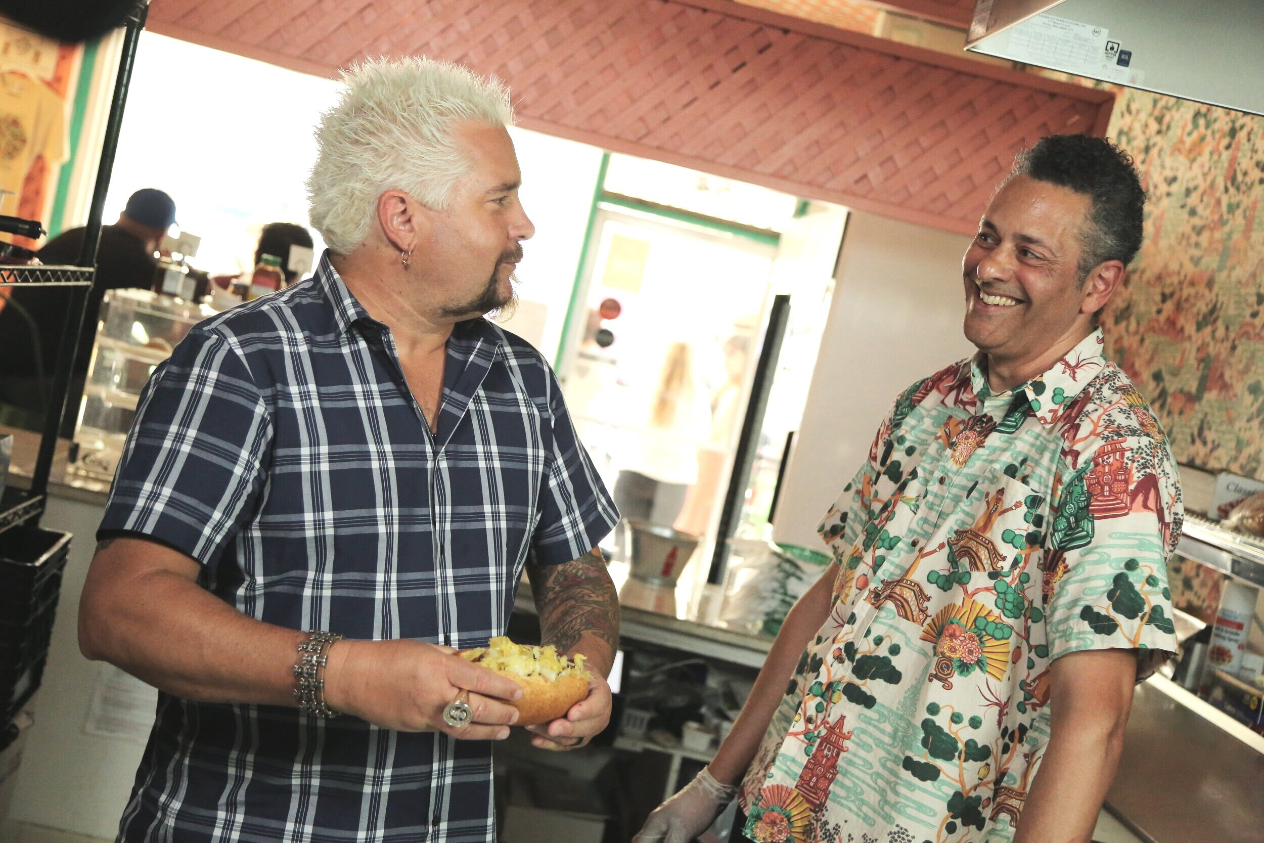 - Thanks to our loyal customers and yummy food, Frankinbun has become just a little famous :) Enjoy these fun appearances on Diners, Drive-ins, and Dives along with others!