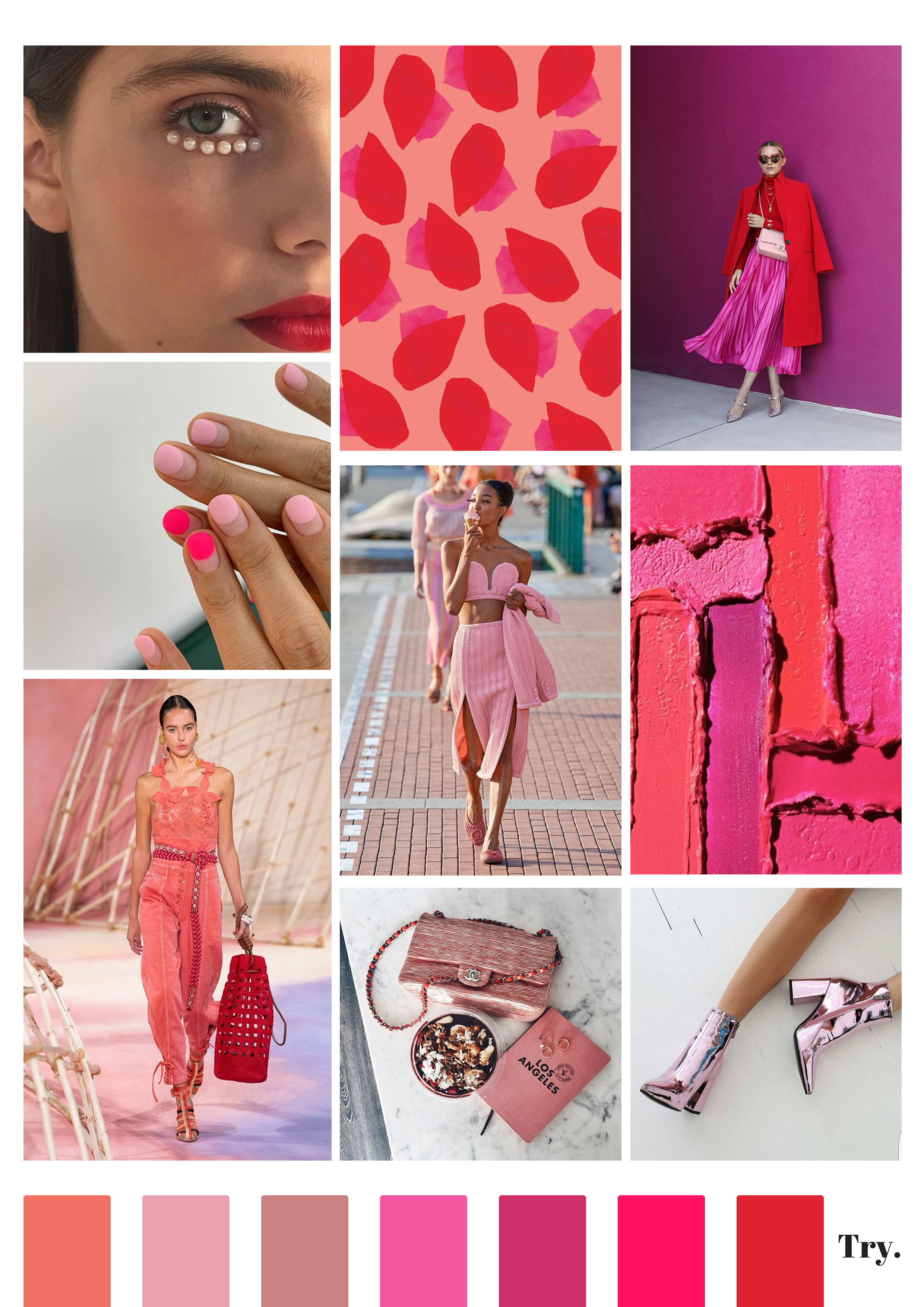 Moodboards Try Creative Trends
