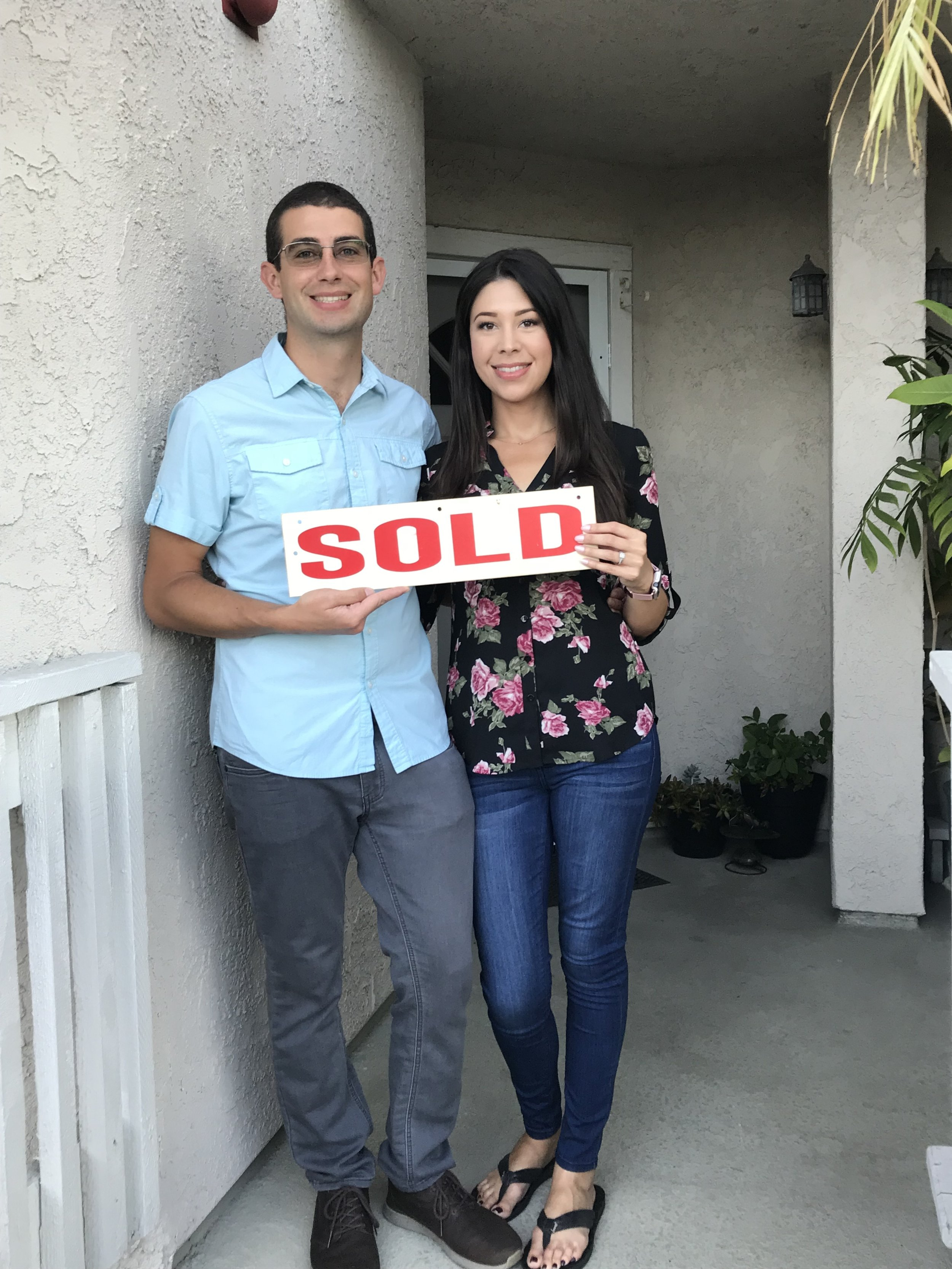 After dealing with some loud neighbors & saving money for some time, Nick & Melissa decided it was time to make a move! As with any buyer we work with, we sat down with them to get familiar with the most important things they needed in the home; close to the beach, close to work, garage space, etc. We quickly got to work looking for the perfect fit & through networking with another agent in the area, we learned of a home that was about to hit the market. After competing against multiple buyers, the sellers chose Nick & Melissa's offer because they were able to work together & make the transaction fair for both parties. We're pleased to say that they remain friends to this day! We are so grateful that Nick & Melissa gave us the opportunity to be their guides in this process. It was a treat to be in their corner & work with such great people!