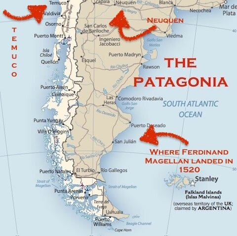 map of patagonia chile Where What Is The Patagonia Pedal Chile map of patagonia chile