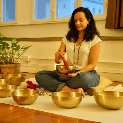Cheryl Rodriguez - Cheryl hosts sound healing sessions with Gongs, Crystal, Himalayan or Tibetan Bowls at Enhale and wellness events. Following an unexpected surgery, Cheryl directly felt the deeper healing effects of sound therapy during her recovery process, which led her to study sound healing.View Profile