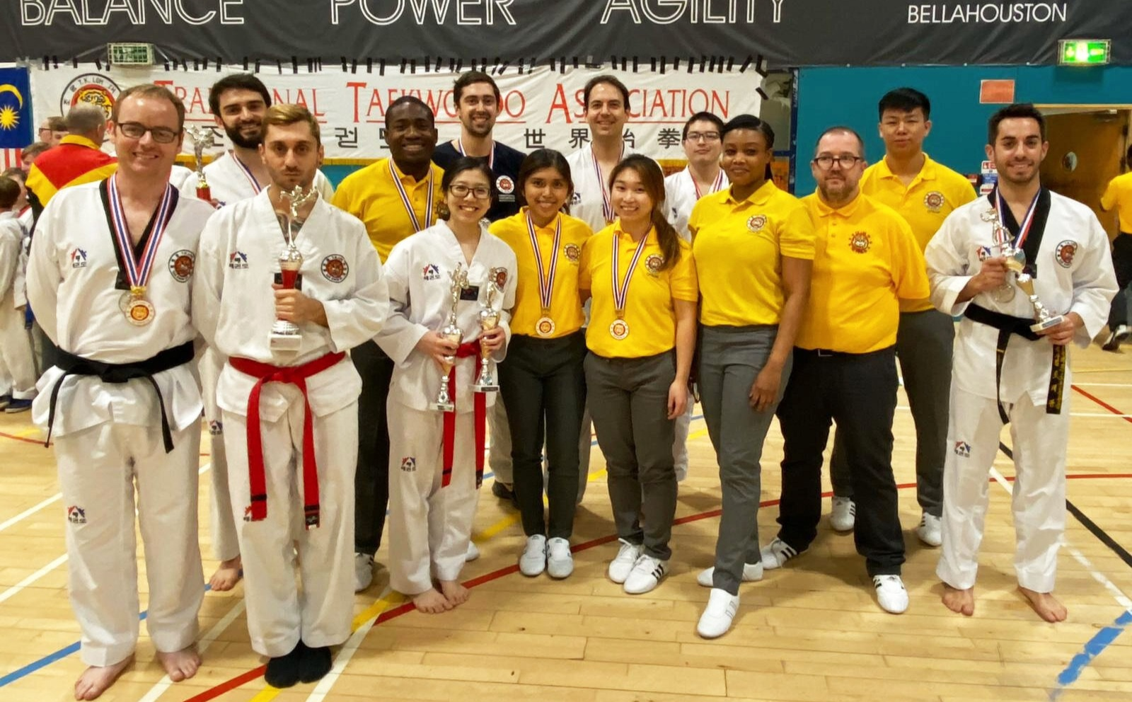 London Barbican came 4th overall in kyorugi, with 3 gold, 3 silver and 2 bronze medals.