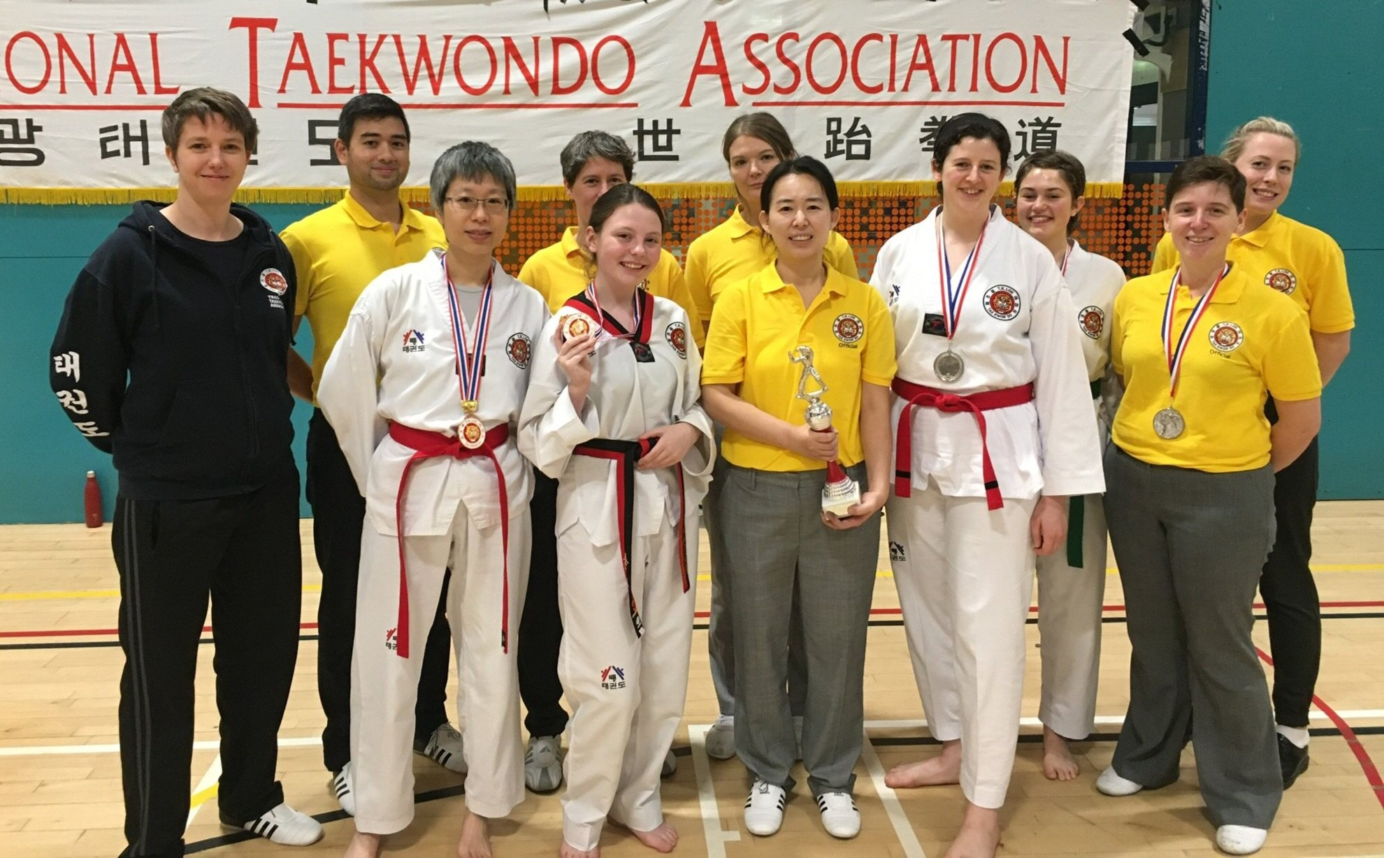 London Southwark students won 1 silver and 3 bronze medals in kyorugi.