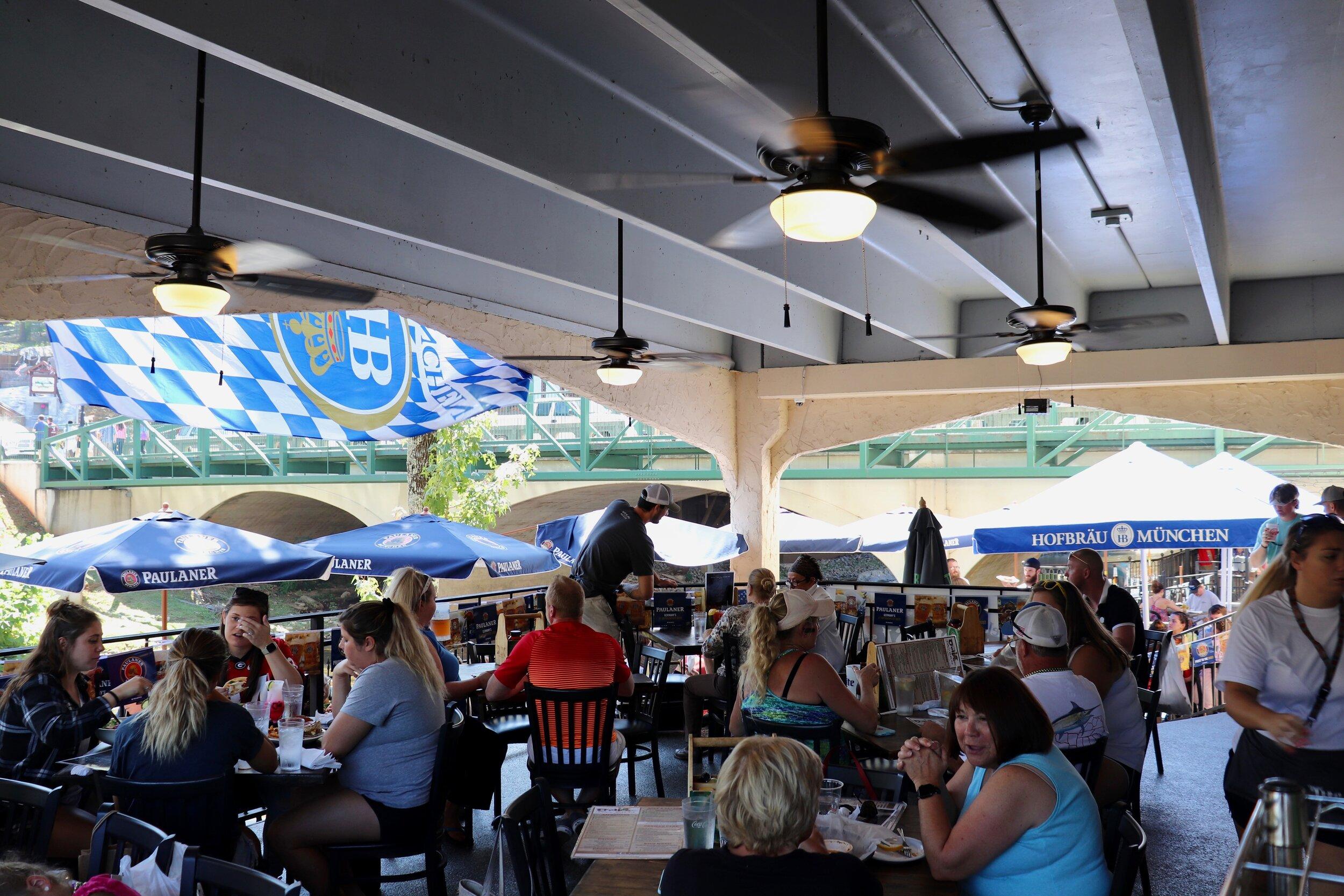 Upper outside deck seating The Troll Tavern .jpg