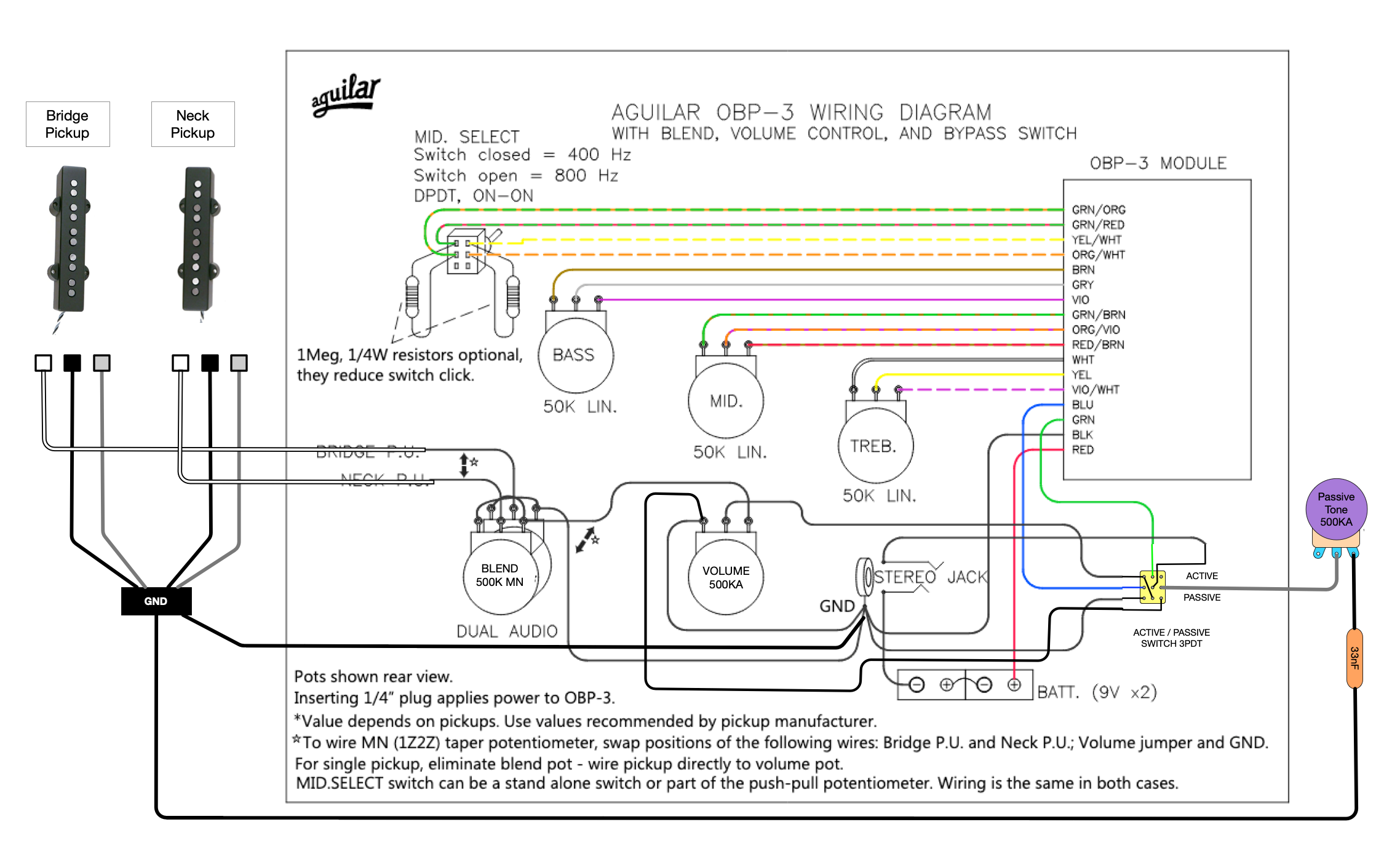 5 string bass wiring diagrams 5th wheel wiring harness for