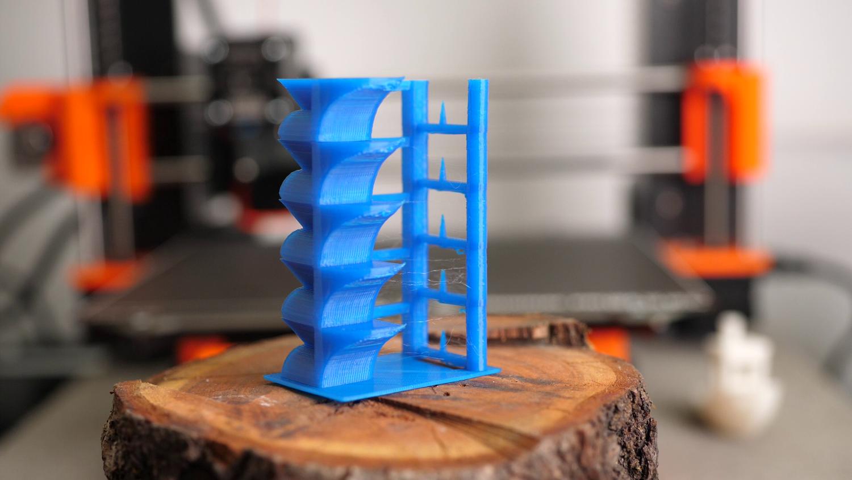 Типичная температурная башня (от 3DMakerNoob)