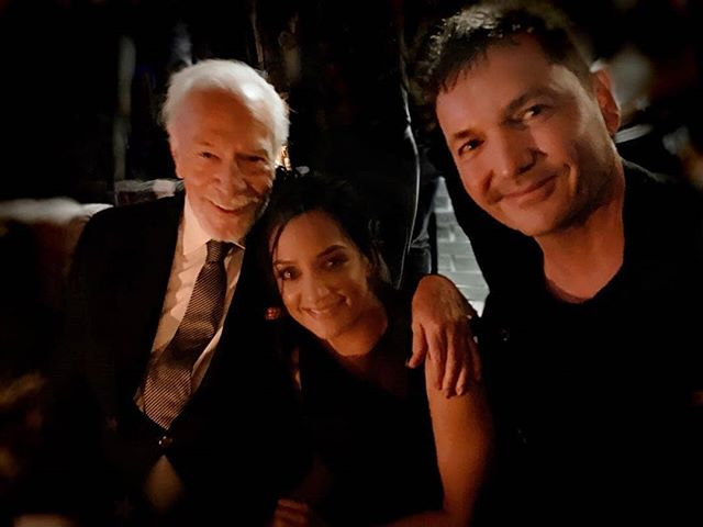 #Repost @tjscottpictures • • • • • • So fun catching up with @ArchiePanjabi and #ChristopherPlummer my @departure_tv series stars at the @KnivesOut after party. Our Pilot has it's North American premiere at @Tiff_Net Tuesday in Content Canada. I'm Very proud of this project wt the awesome ensemble cast of  @krisholdenried  @therealclaireforlani @Dougray4 @pmensahonline  @RebeccaLiddiard  @tamaraduarteofficial @ShazadLatif @allanhawco @emmkab @BabyBoujy @chloefarnworth @markdlutz @mrsasharoiz @MrKristianBrunn @sydneymeyer48  @tylerfayose @lisaberrylive @lypofo @patriciamckenze @hantelley @greatbritishactor for #ShaftesburyFilms #Corus @globalTV @universaltvuk @Red_Arrow_TV Exec Prod @jennings5848 #DepartureTV • • • • • • • • #tjscott #archiepanjabi #knivesout #knivesoutmovie #krisholdenried #petermensah #claireforlani #tamaraduarte #shazadlatif #allanhawco #chloefarnworth #marklutz #kristianbruun #sydneymeyer #tylerfayose #lisaberry #redarrowtv #afterparty