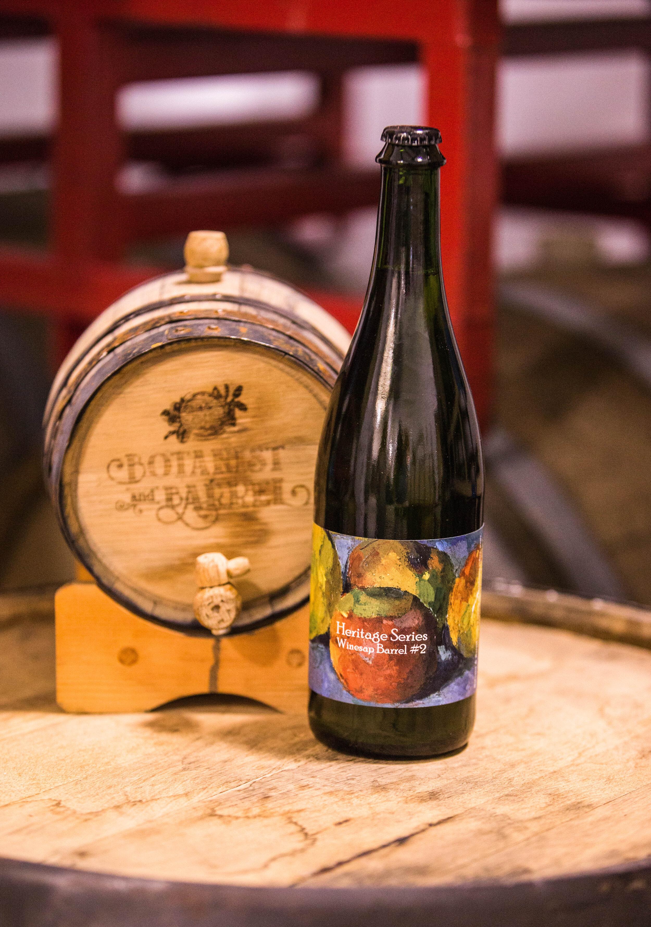 Heritage Series - Single variety ciders. Winesap, Arkansas Black + more to come