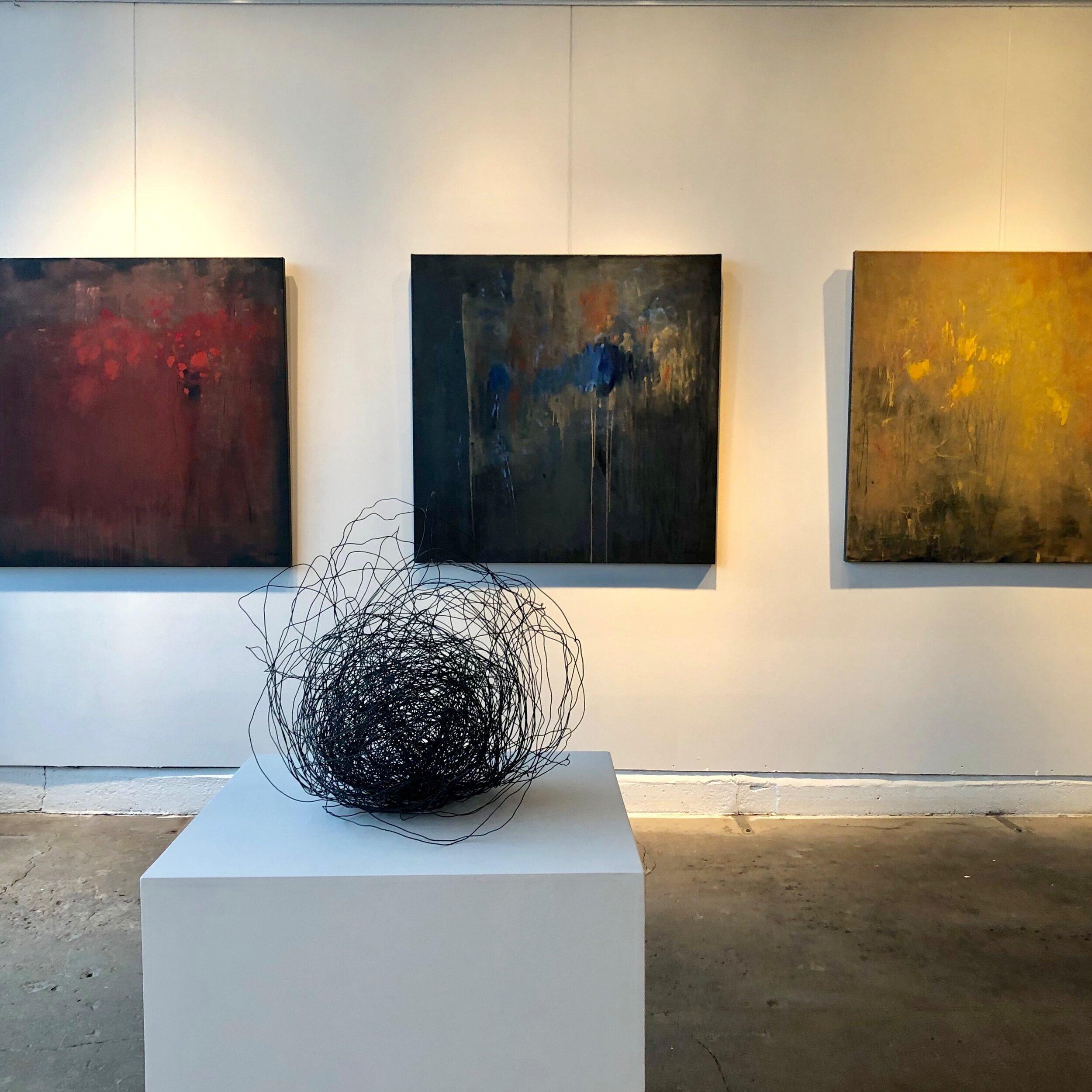 NOCTURNA solo exhibition Veronique Wantz Gallery, Minneapolis