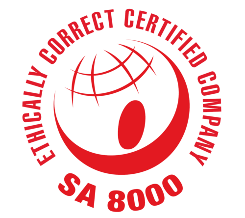 SA8000 label certification.