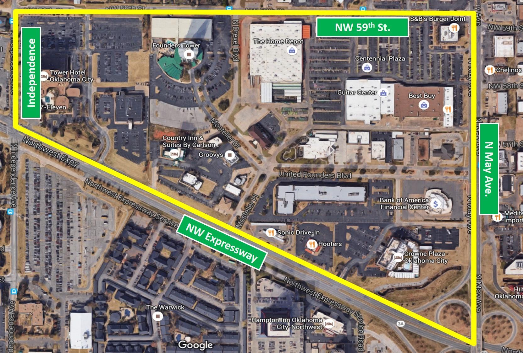 Neighborhood aerial with street sign boundaries.jpg