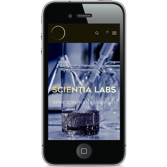 scientialabs.ioWebsite Redesign - The team at Scientia Labs — an Oregon-based hemp extraction company — takes pride in  creating some of the purest extracts and CBD distillate on the market. I redesigned their website to better reflect their work, weaving it together with a voice that speaks to their values of transparency, specificity, and commitment to scientific rigor. scientialabs.io