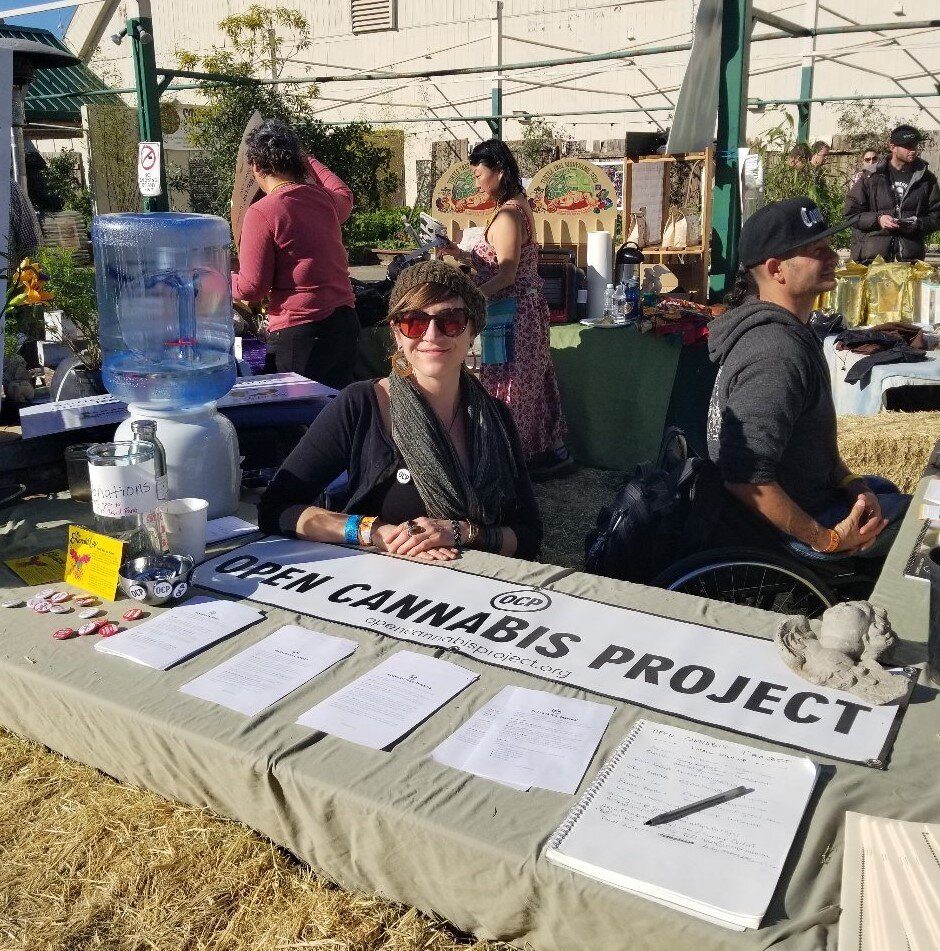 """Open Cannabis Project (OCP)Executive Director - In the fall of 2017, I was hired by cannabis genetics company Phylos Bioscience to help turn a project of theirs into a nonprofit. I helped leadership to select a capable board and write bylaws and built their website. At our first official board meeting, I was asked to be the Executive Director and accepted. In addition to running the organization — whose mission was to document cannabis plants to create prior art and prevent overbroad patents — much of my work involved writing, design, and helping cannabis farmers to understand how the US patent system works in relation to cannabis, as well as the pros and cons of openly sharing information in the realm of intellectual property. The organization unfortunately closed in controversy on May 31, 2019. Nevertheless, I'm honored to be known in the cannabis industry as a leader in ethics and subject matter expert in cannabis ownership — though I have mixed feelings about the practice. My closing letter was also touted by a notable podcaster as """"one of the best pieces of business writing [he'd] ever read."""" I'm proud that I was able, as Meryl Streep has encouraged, to take my broken heart and go make art — sometimes, in the end, that's all we can do.opencannabisproject.org"""