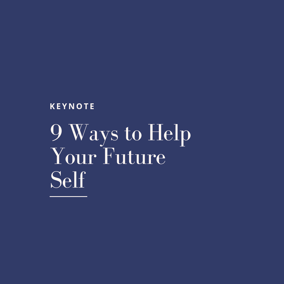 Experience the Wellness + Work Keynote: 9 Ways to Help Your Future Self. - An authentic conversation on how we approach wellness and work that will help individuals evaluate their own journey and give them ways to elevate their future self while empowering others in and outside of the workspace.