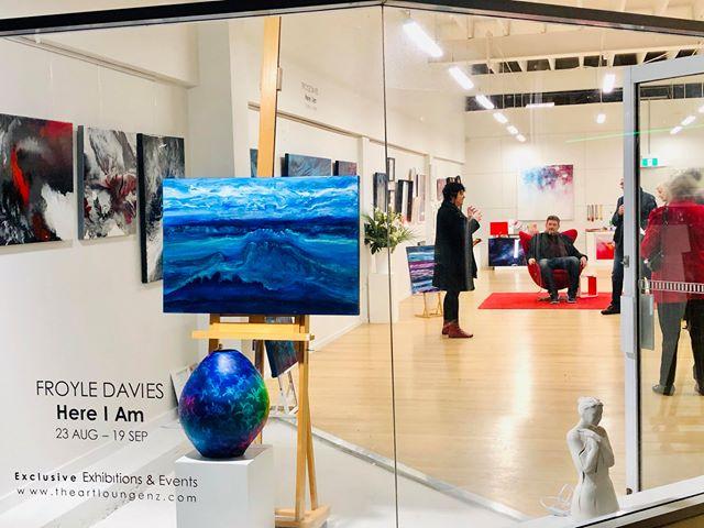 Opening Night at The Art Lounge, Tauranga