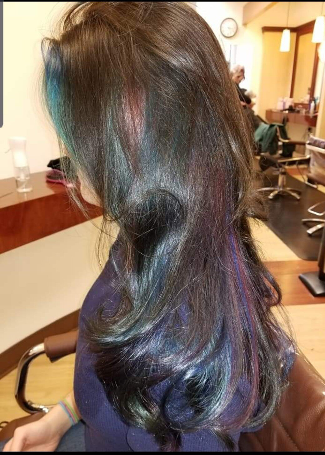 OIL SHEEN - FROM NATURAL TO AN AMAZING OIL SLICK COLOR APPLICATION!