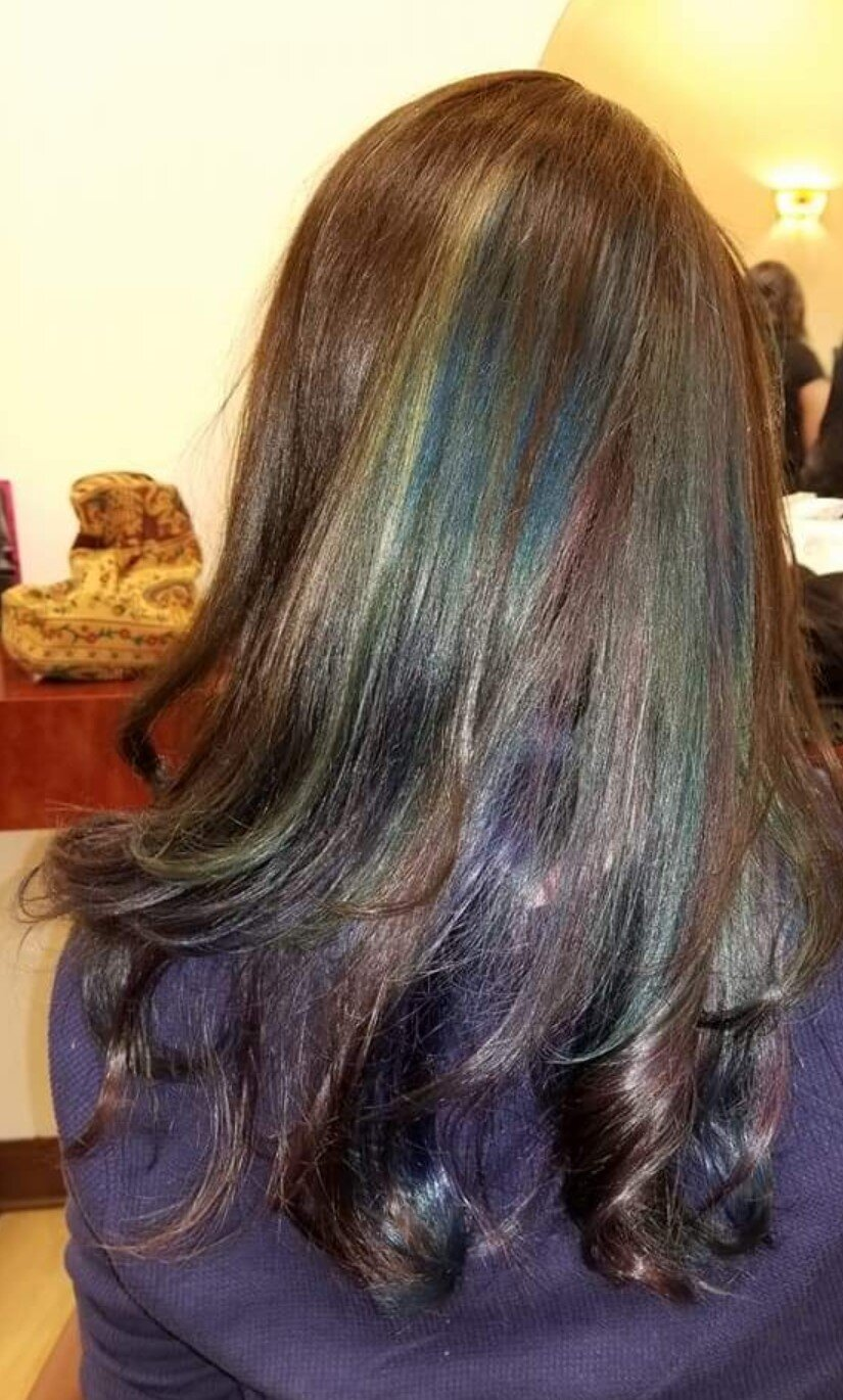 OIL SHEEN… - FROM NATURAL TO AN AMAZING OIL SHEEN COLOR APPLICATION!!!