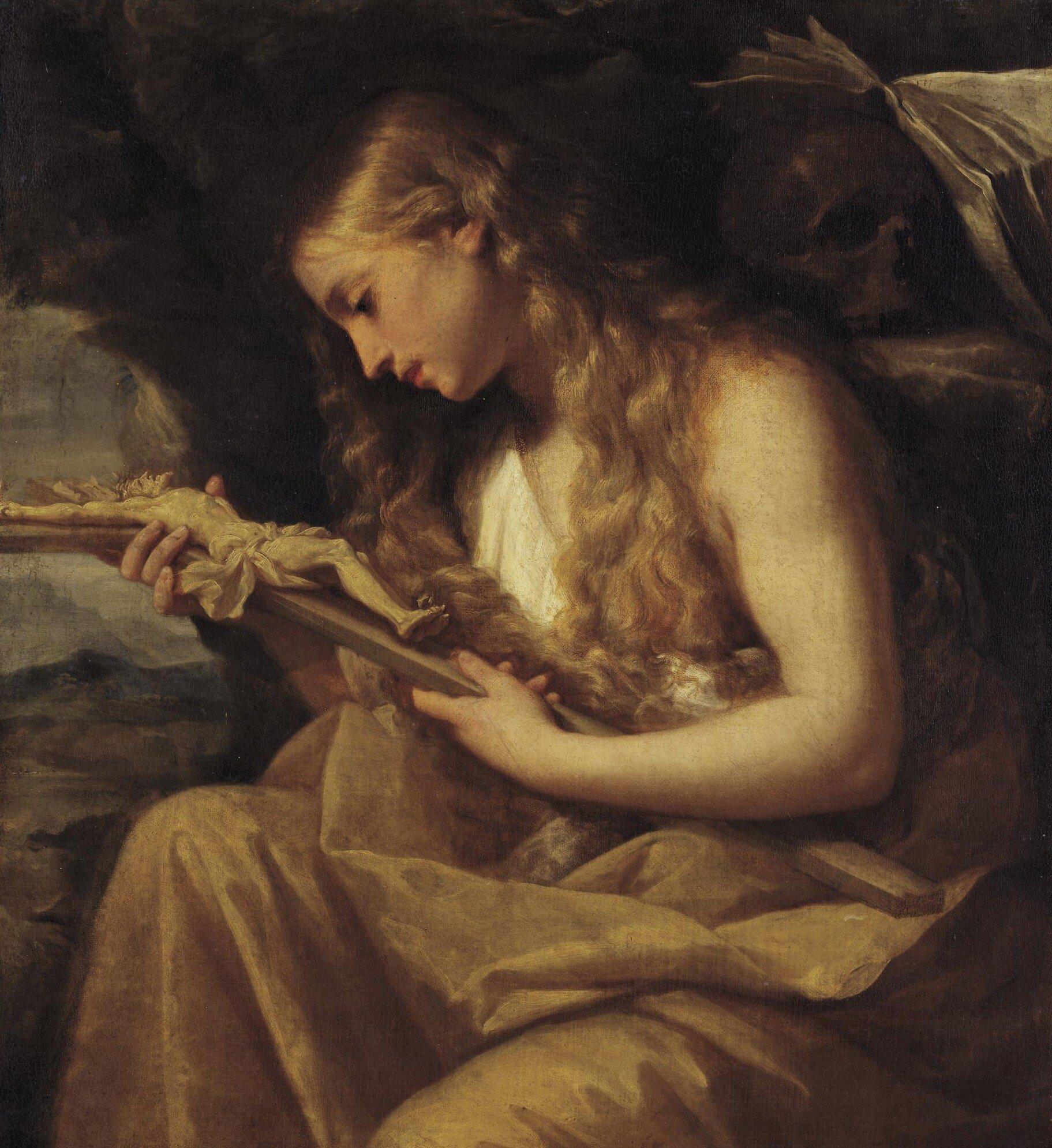 La Madalena Penitente - circa 1700 - Giovanni Gioseffo dal Sole