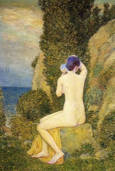 Childe Hassam, Aphrodite, Appledore, 1908