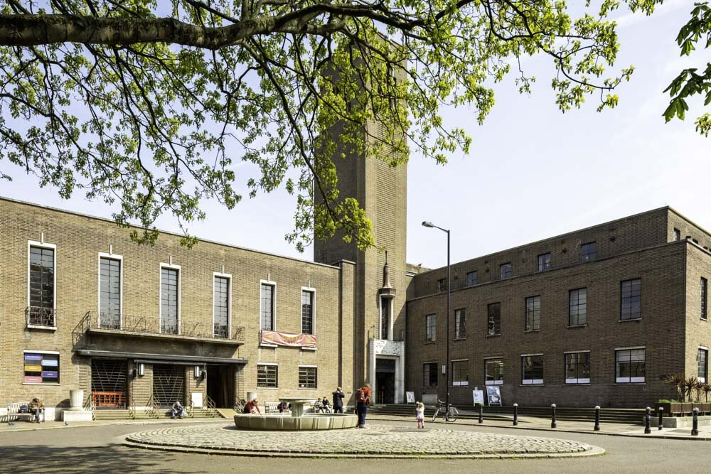 Hornsey Town Hall by Dan Bridge Photography