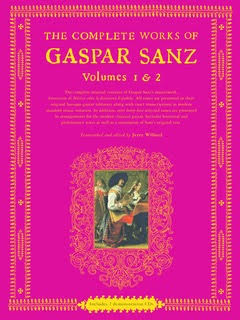 The Complete Works of Gaspar Sans    The complete manuscript of Sanz's legacy in English with standard music notation, including arrangements for the modern guitar and performances by Willard on the accompanying CDs.