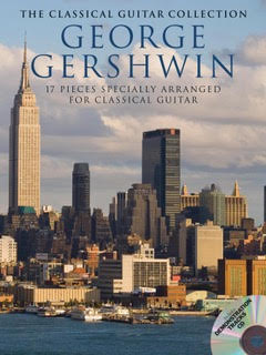 17 Show Tunes of George Gershwin    George Gershwin's best-loved pieces specially arranged for Classical Guitar and presented in standard notation. the Includes an exclusive demo CD of all 17 pieces.