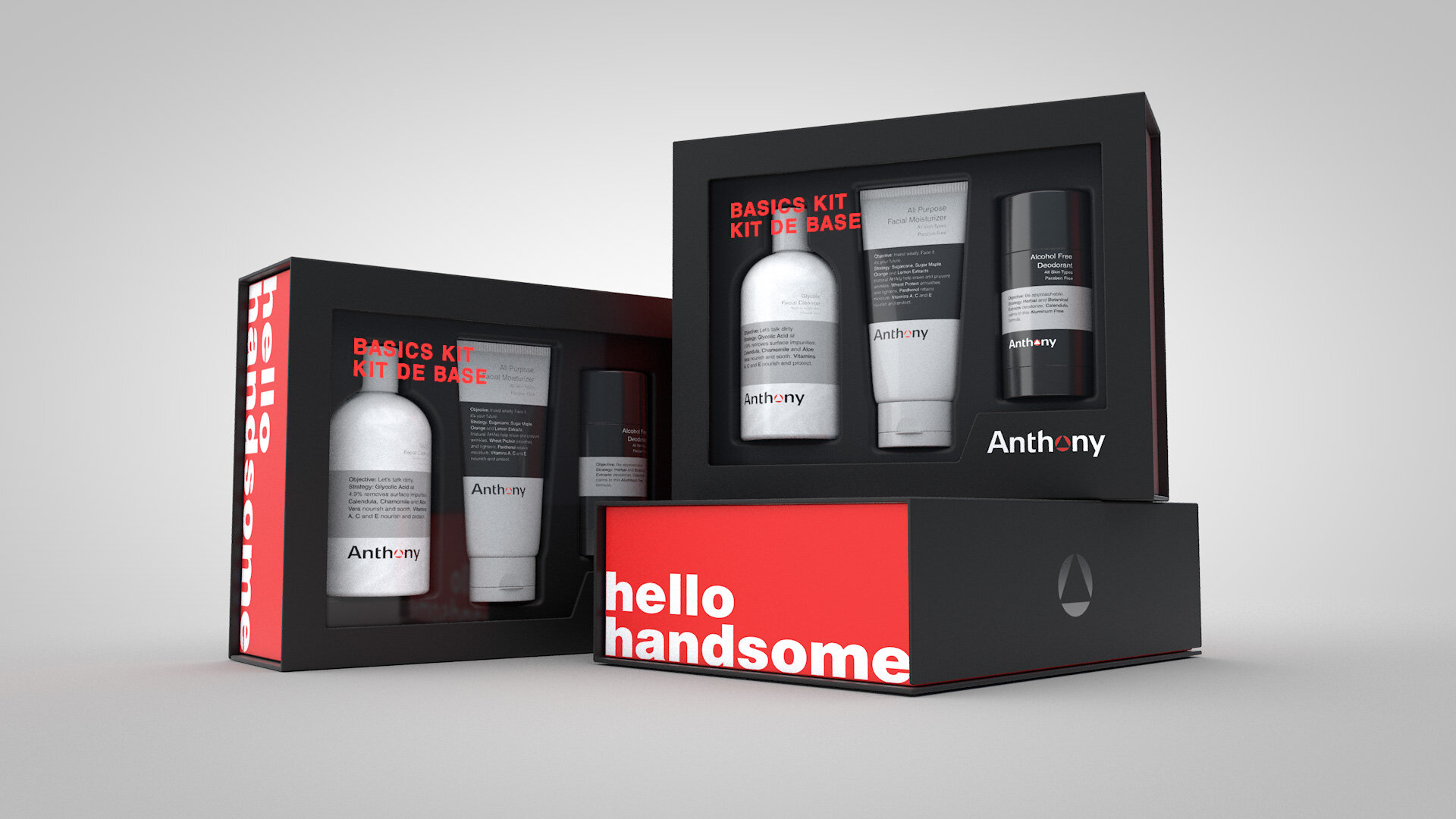 #1 Best selling men's holiday gift set in Nordstrom for 2018. - See the project: ANTHONY