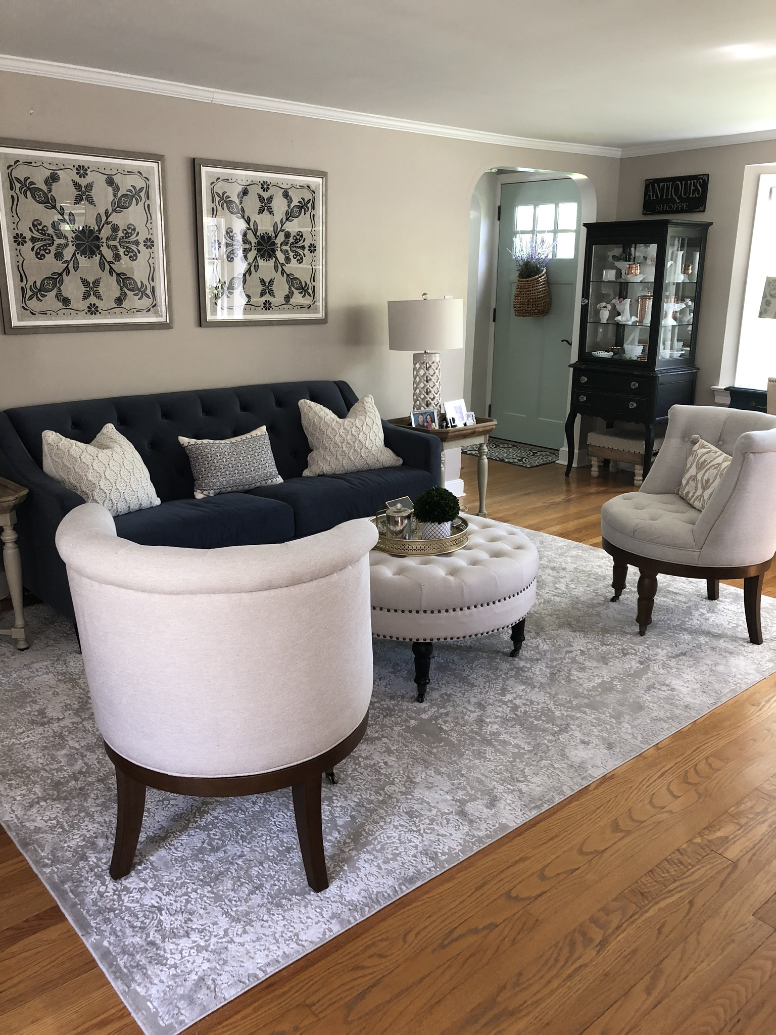LIVING ROOM REDO WITH RAYMOUR AND FLANIGAN — The Seasoned Home