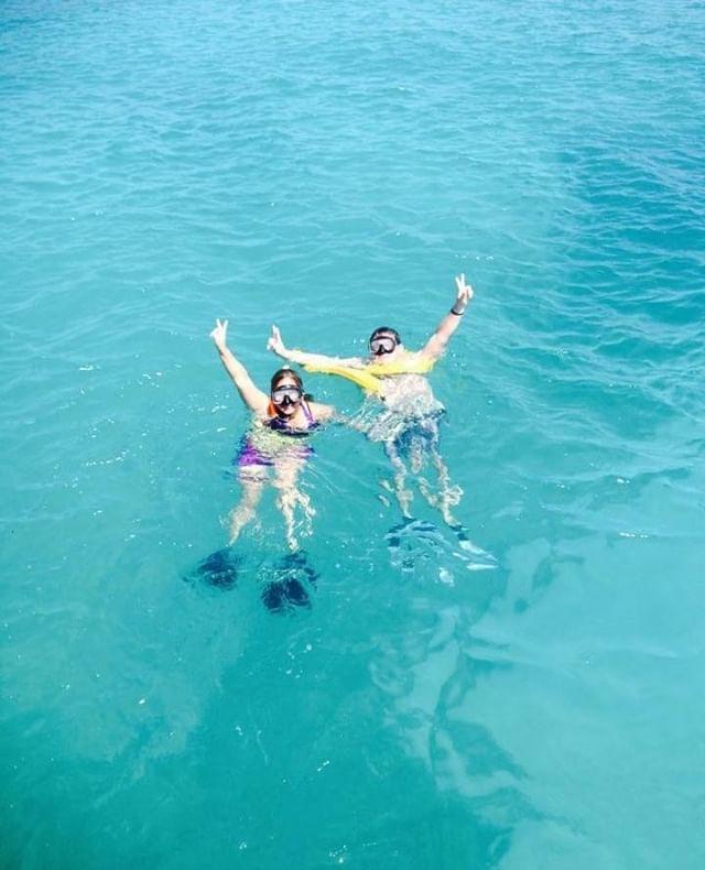 You know what time is ✌️🐠 #saltydogpr #saltydogcatamaran #oceanlife #beachlife #islandlife #prtourism #isladelencanto #pr #catamaran #travel #snorkeling #boricua #turismo #puertorico #visitpuertorico #excursion #beachvibes #vibes #seepuertorico #visitus #booknow #beach #paradise #saltydog #explore #explorepuertorico #sanjuan #icacosisland #islapalomino