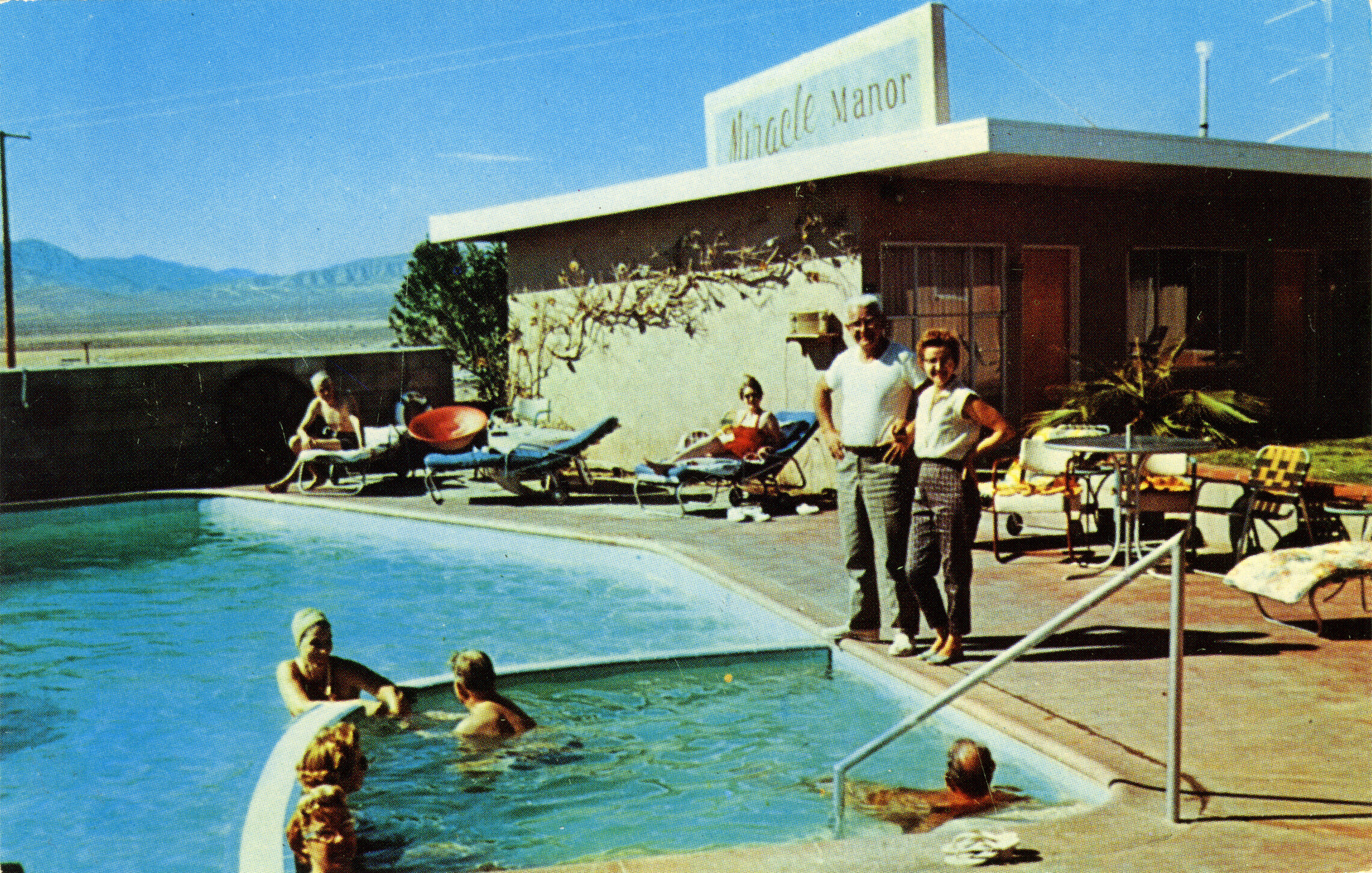 History - The original hotel was built in 1949, one of the first spas in Desert Hot Springs. Now, redesigned as a human-centered, luxury resort, we boast true exclusivity situated in the Coachella Valley on top of Miracle Hill and nestled between the San Jacinto and San Bernardino mountain ranges.