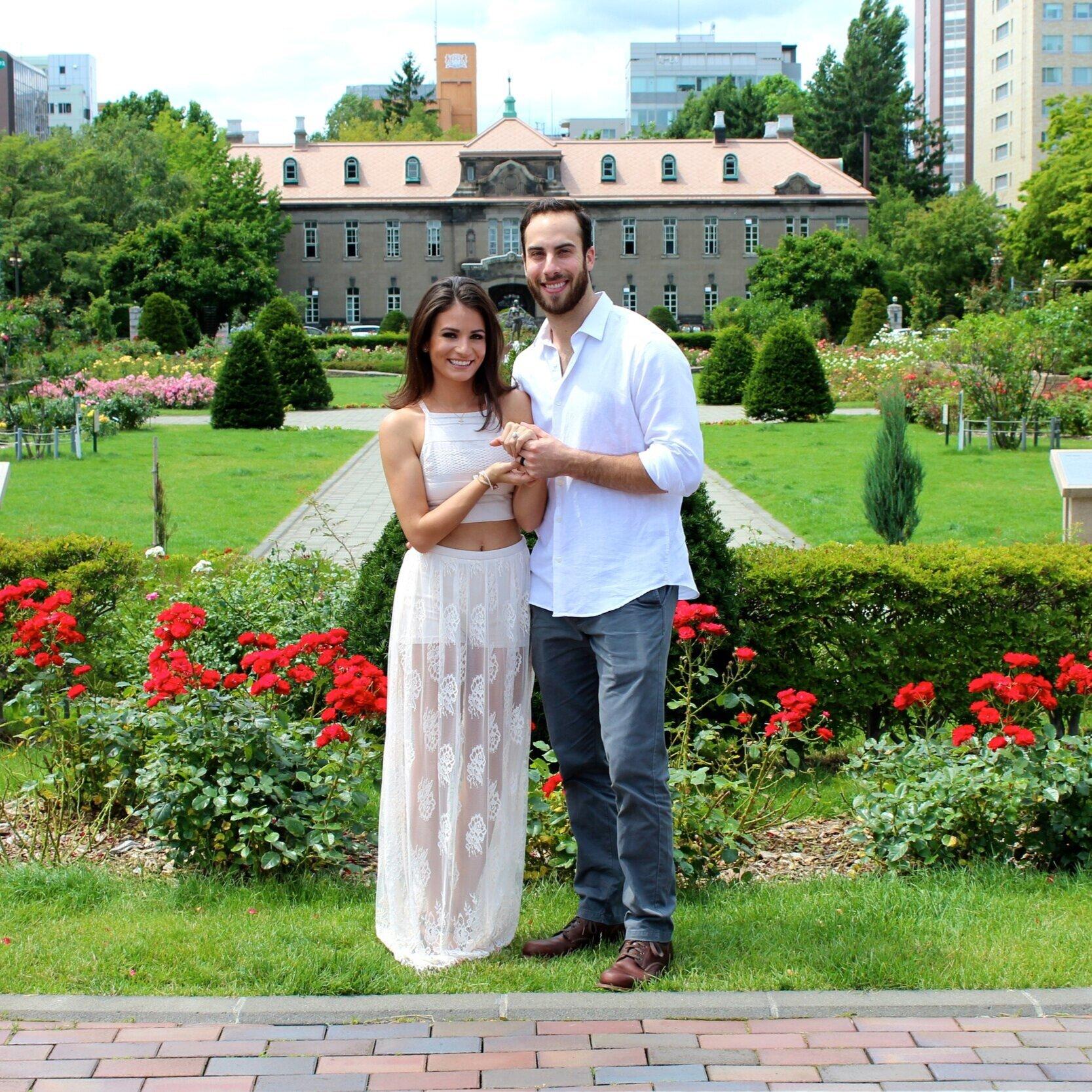 We eloped in Japan -