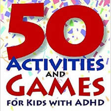 50 Activities and Games for Kids with ADHD - By Patrica O. Quinn, MD & Judtith M. Stern, M.A., Illustrated by Kate Sternberg The games, puzzles, activities, articles, and resources in this exciting collection from the newsletter BRAKES offer more than 50 ways for kids to handle the challenges of ADHD. Along with practical tips for solving problems and getting organized, boys and girls can also read about real kids like themselves. And they can discover a wealth of ideas that make life more manageable—and more fun!