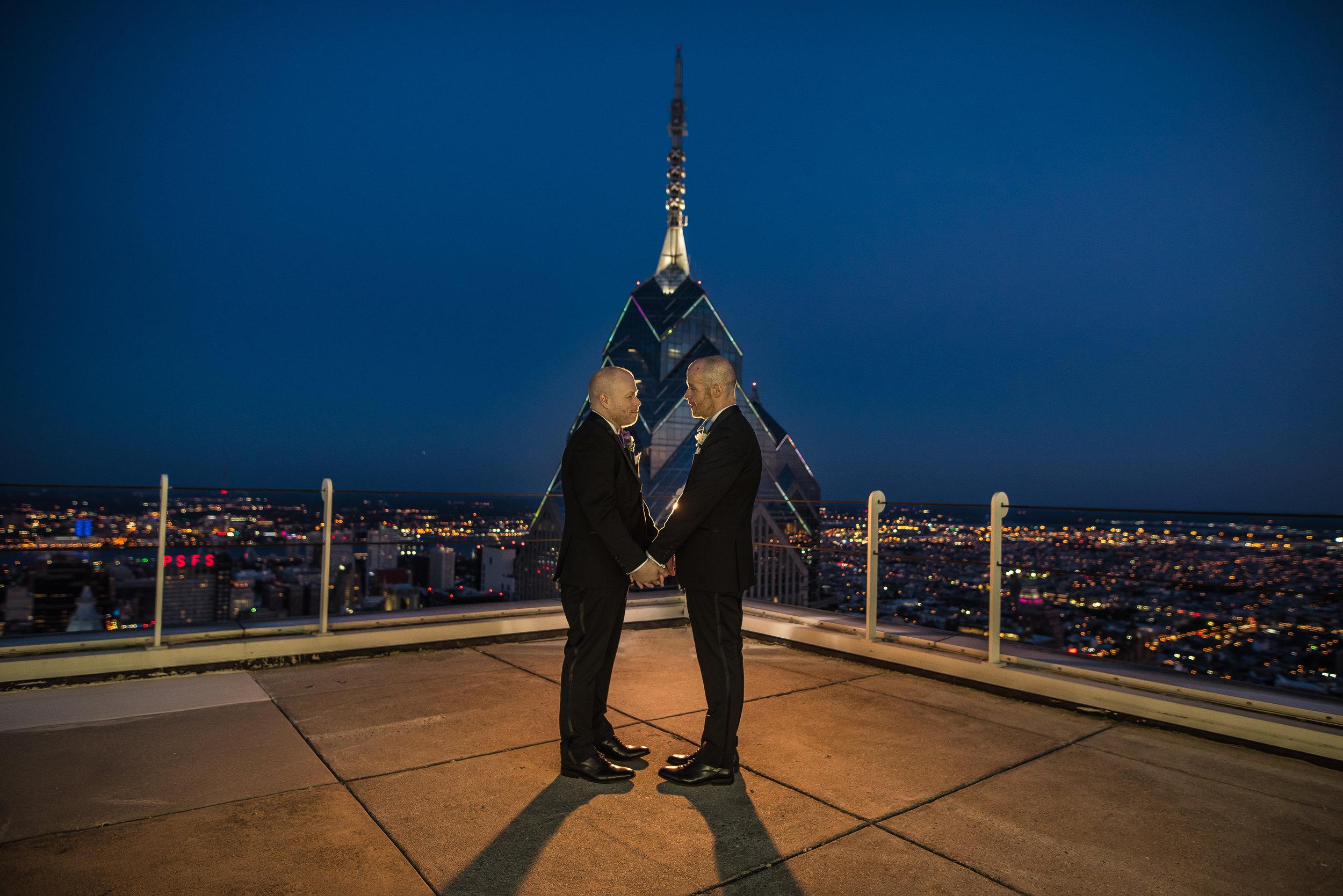 Photographer David McShea got some amazing shots on the Pyramid Club's 53rd floor roof!