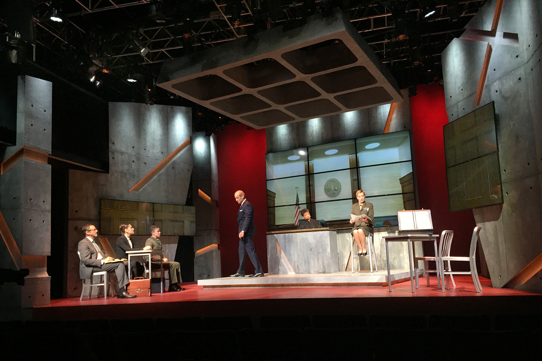 The Trial of Donna Caine - George Street Playhouse